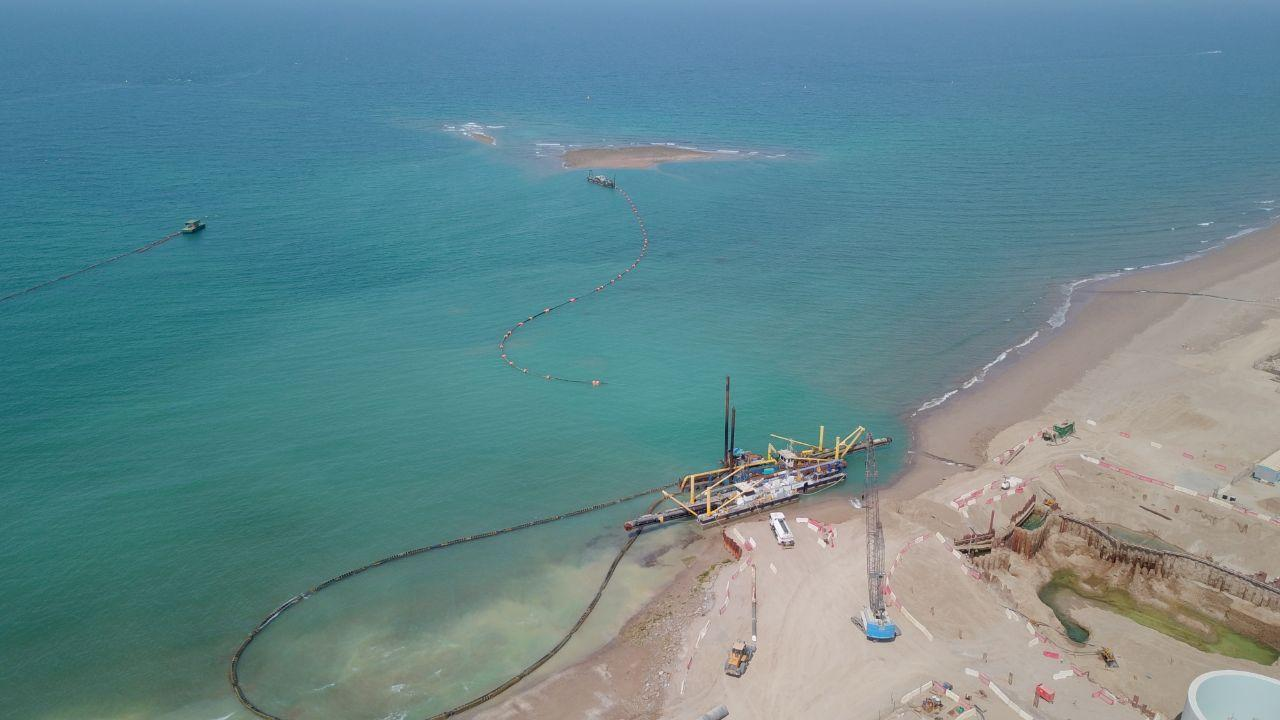 Barka IWP in final stages of offshore works